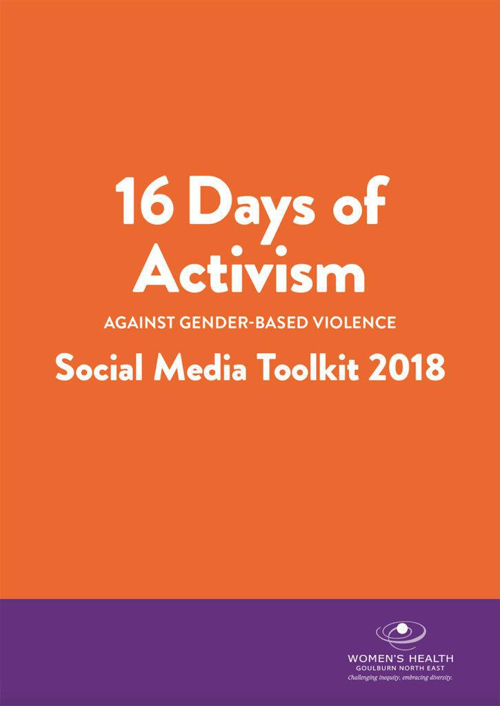 16 Days of Activism PDF cover image