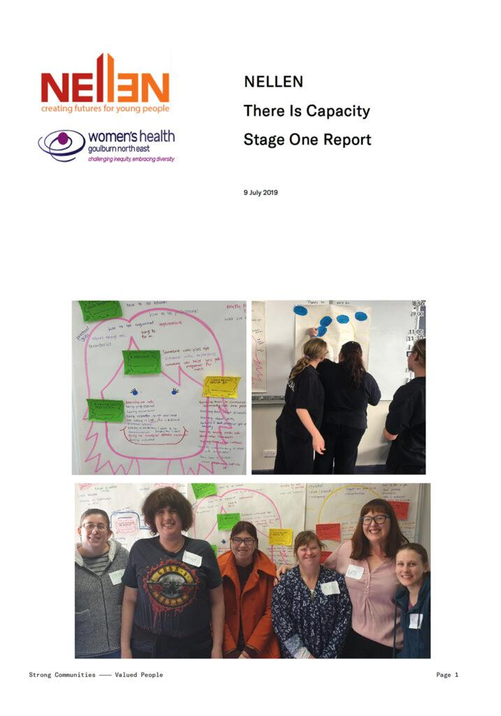 The front cover of the There is Capacity report